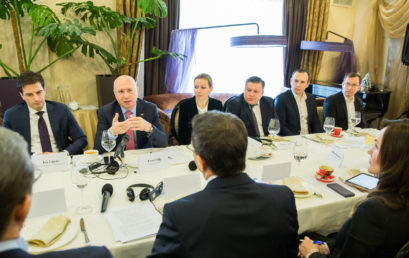 realitatea.md: Membrii Asociației Investitorilor Străini, la sfat cu Premierul Pavel Filip. Despre ce au discutat oficialii.