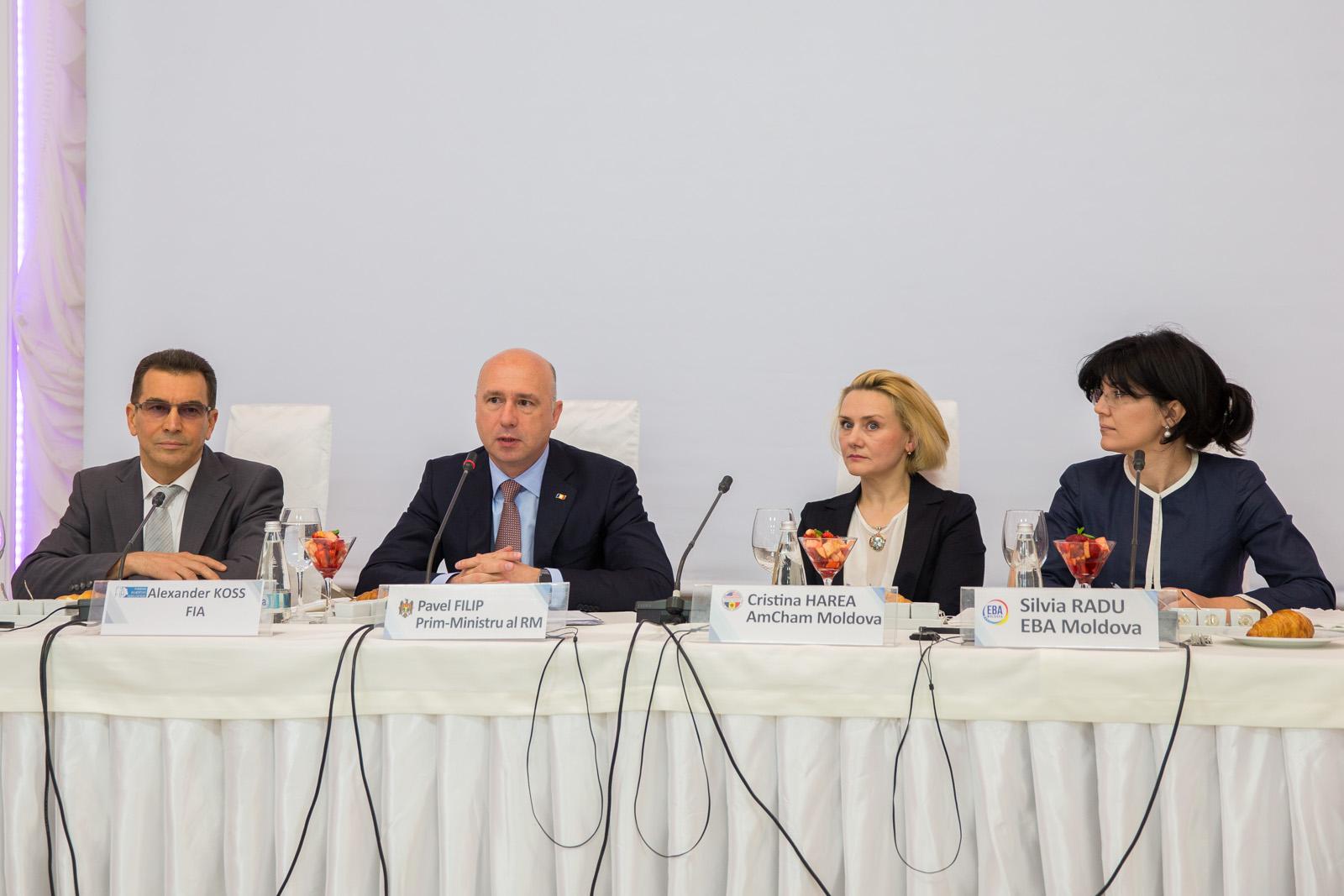 Wall-street.md: Premierul a discutat agenda de reforme a Guvernului cu reprezentanţi ai mediului de afaceri