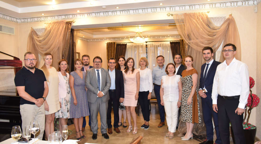Informal meeting with H.E. Mr. Peter Michalko