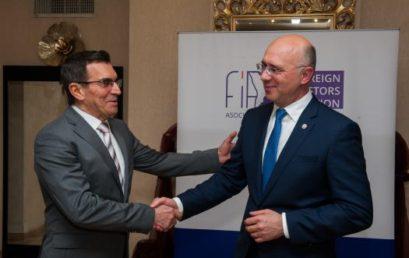gov.md: Pavel Filip, către Asociaţia Investitorilor Străini: Problemele pot fi soluționate doar cu eforturile comune ale Guvernului, mediului de afaceri și societății civile