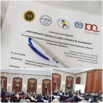 International Conference: Partnerships for a changing labour world