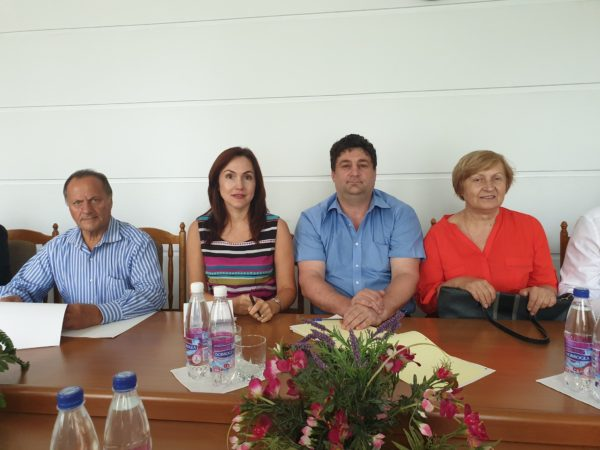 National Confederation of Employers meeting: Mrs. Ala Nemerenco