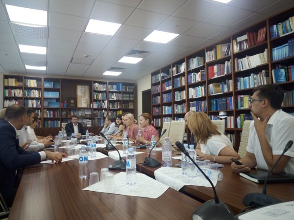 Parliamentary Commission for Economy meeting