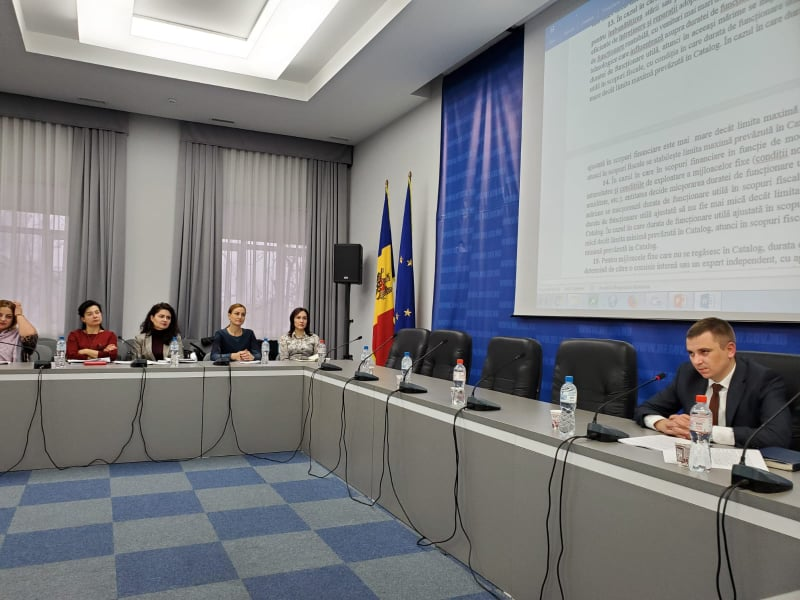 Meeting on the draft Catalog of fixed assets and intangible assets / Ministry of Finance