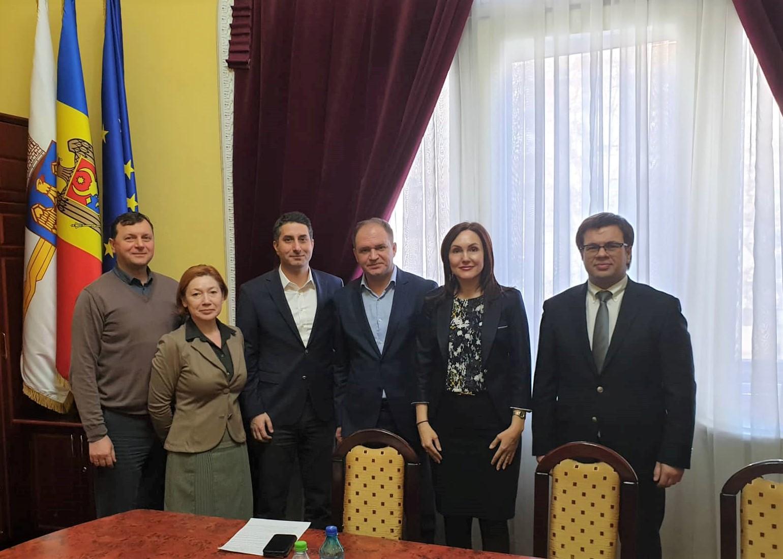 FIA meeting with Mr. Ion Ceban, General Mayor of Chisinau