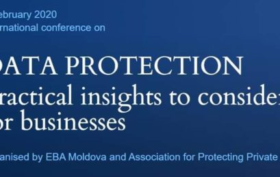 """""""Data Protection. Practical insights to consider for business"""" Conference"""