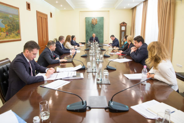 Meeting with the Prime- minister
