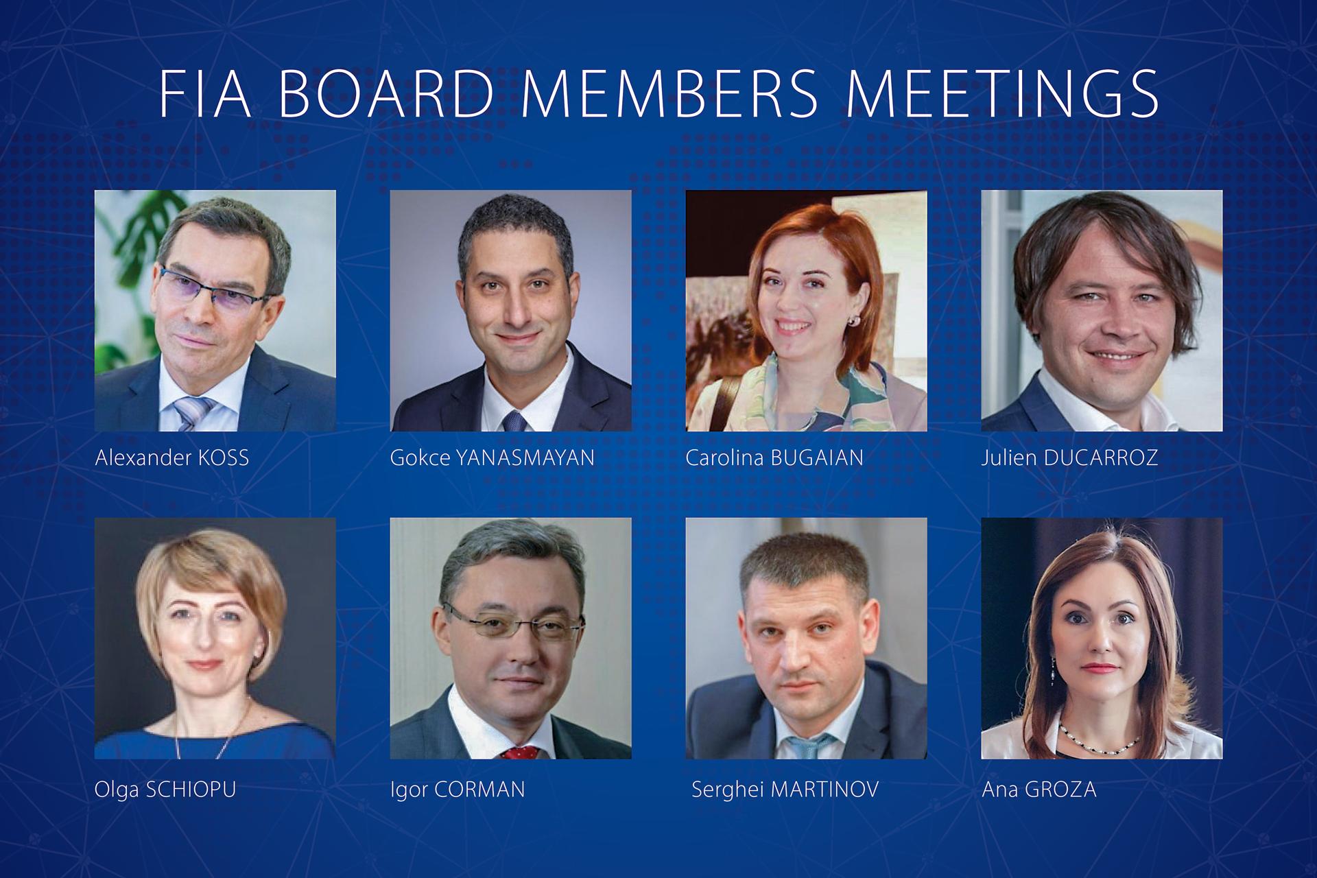 FIA Board Members Meetings