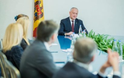 Meeting with the President of the Republic of Moldova