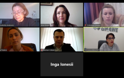 Technical meeting with Mrs. Inga Ionesii
