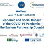 """""""Economic and Social Impact of the COVID-19 Pandemic"""" webinar"""