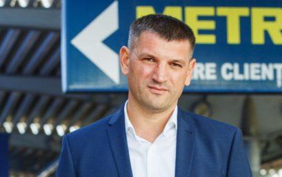 """""""Afaceri cu față umană"""" ți-l aduce azi pe Serghei Martînov, director general METRO Cash & Carry Moldova"""