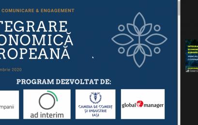 "Professional debate within the program ""European Economic Integration"""