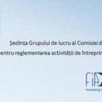 State Commission for the Regulation of Entrepreneurship Meeting