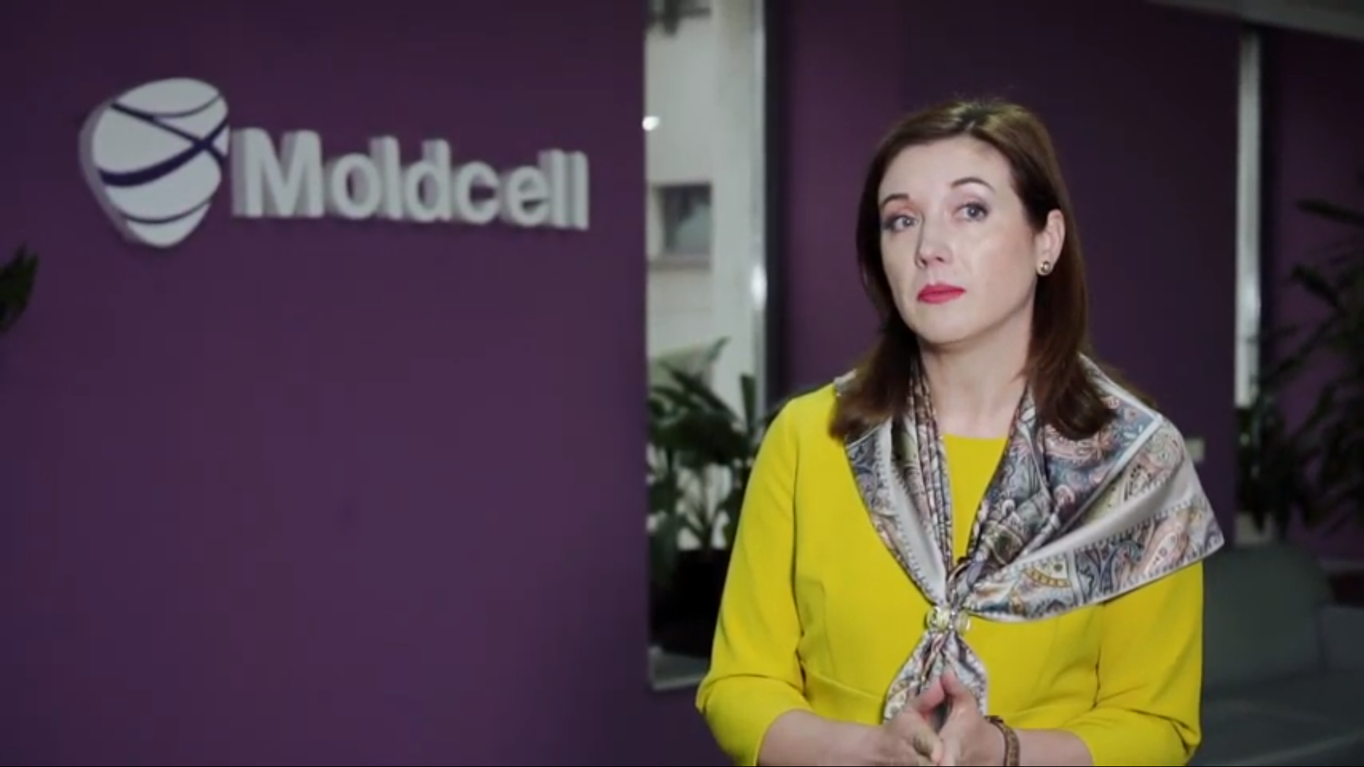 "Carolina Bugaian, Moldcell. ""Investing in Moldova's Future"" Video Project"