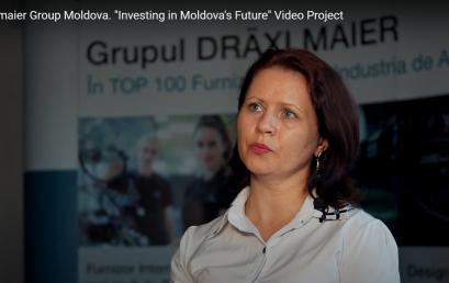 """Draexlmaier Moldova """"Investing in Moldova's Future"""" Video Project"""
