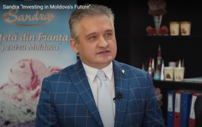 """Sandriliona. """"Investing in Moldova's Future"""" Video Project"""
