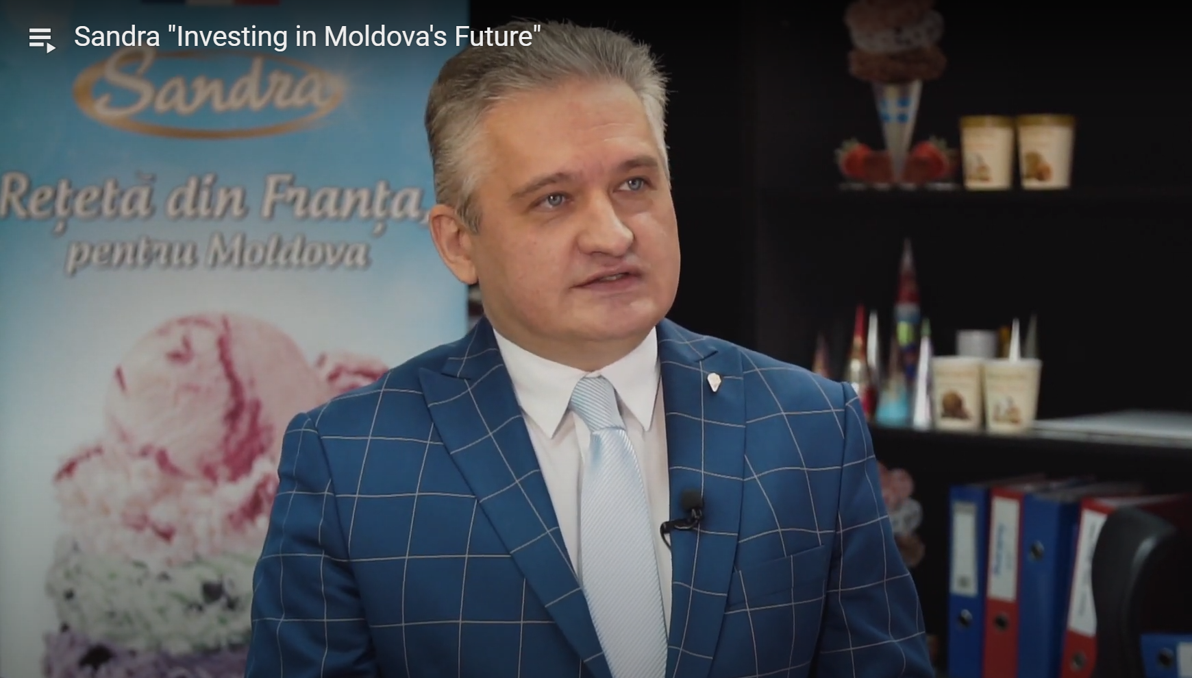 """Denis Bumacov, Sandriliona. """"Investing in Moldova's Future"""" Video Project"""