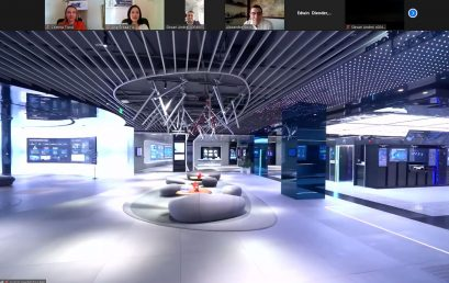 Huawei Exhibition Center in Shenzhen, China