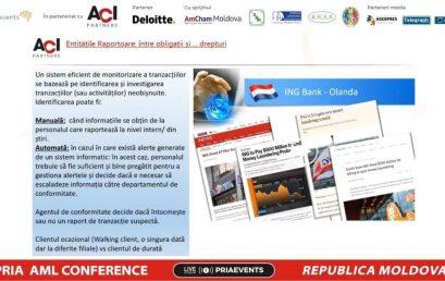 PRIA AML Conference – Republic of Moldova