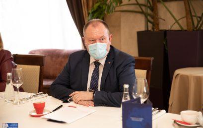 Business Breakfast with Acting Prime Minister Mr. Aureliu CIOCOI