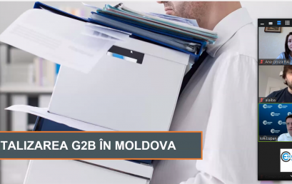 G2B Digitization in Moldova