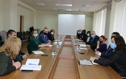 Meeting with the Ministry's of Agriculture, Regional Development and Environment Officials