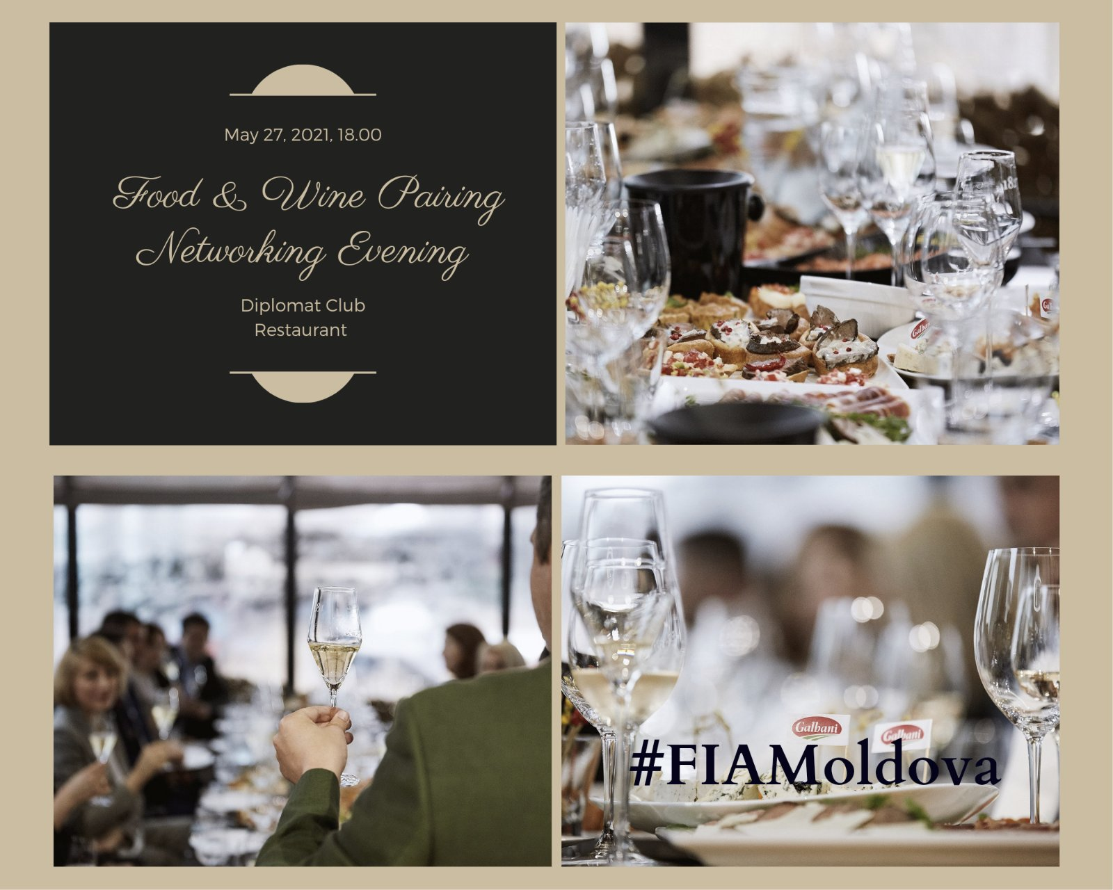 Food & Wine Pairing Networking Event