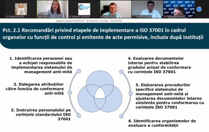 Technical meeting on the draft Concept and Action Plan for implementing the anti-bribery standard ISO 37001